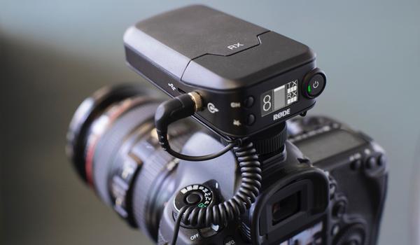 Filmmaker on camera